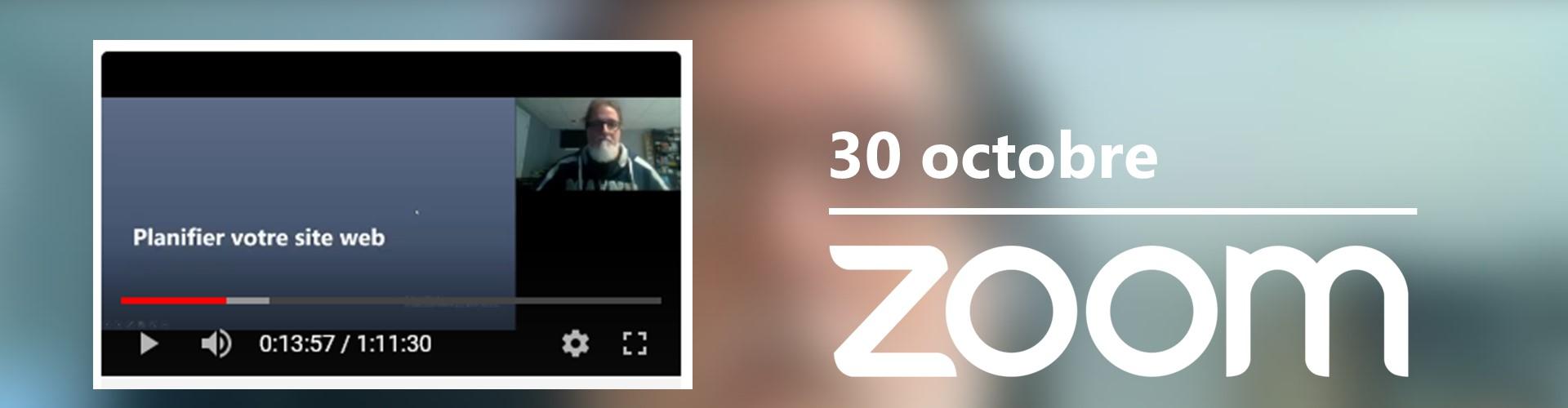 Rencontre du 30 octobre sur Zoom